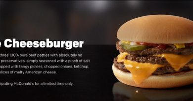 McDonald's Triple Cheeseburger UK