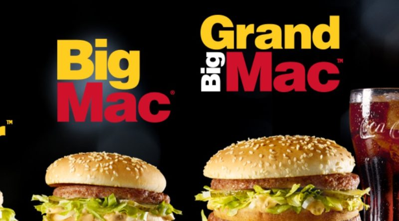 Grand Big Mac Mcdonalds Uk 2019 Burger Price Review Calories