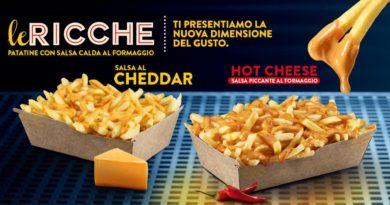 McDonald's Le Ricche Hot Cheese