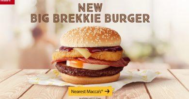 McDonald's Big Brekkie Burger