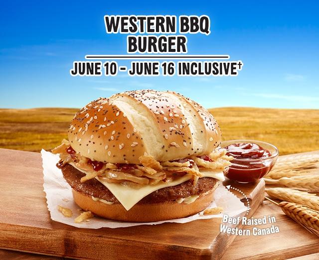 McDonald's Western BBQ Burger