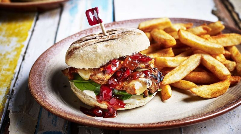 Nando's Sunset Burger