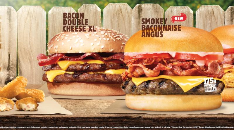 Burger King Bacon Feast