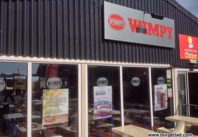 Wimpy Menu Prices