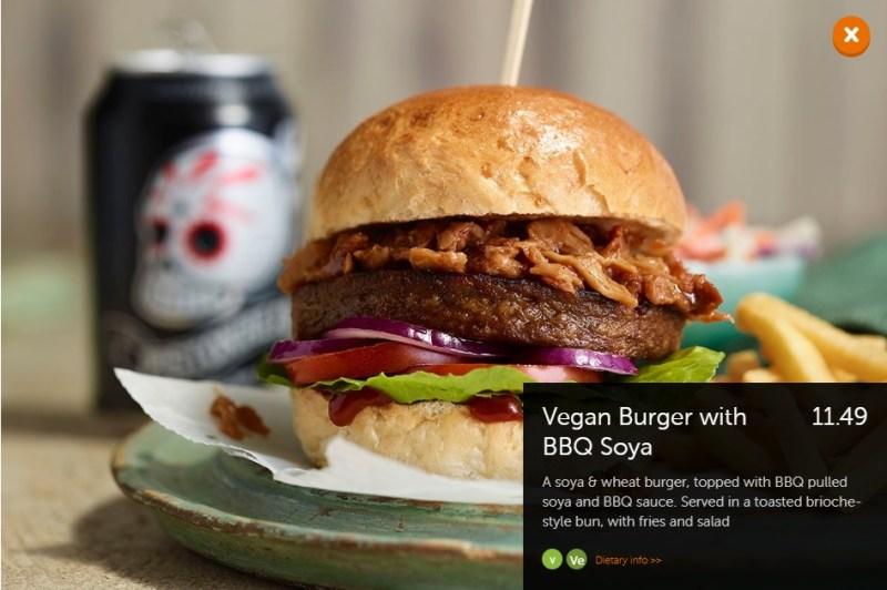 Beefeater Vegan Burger