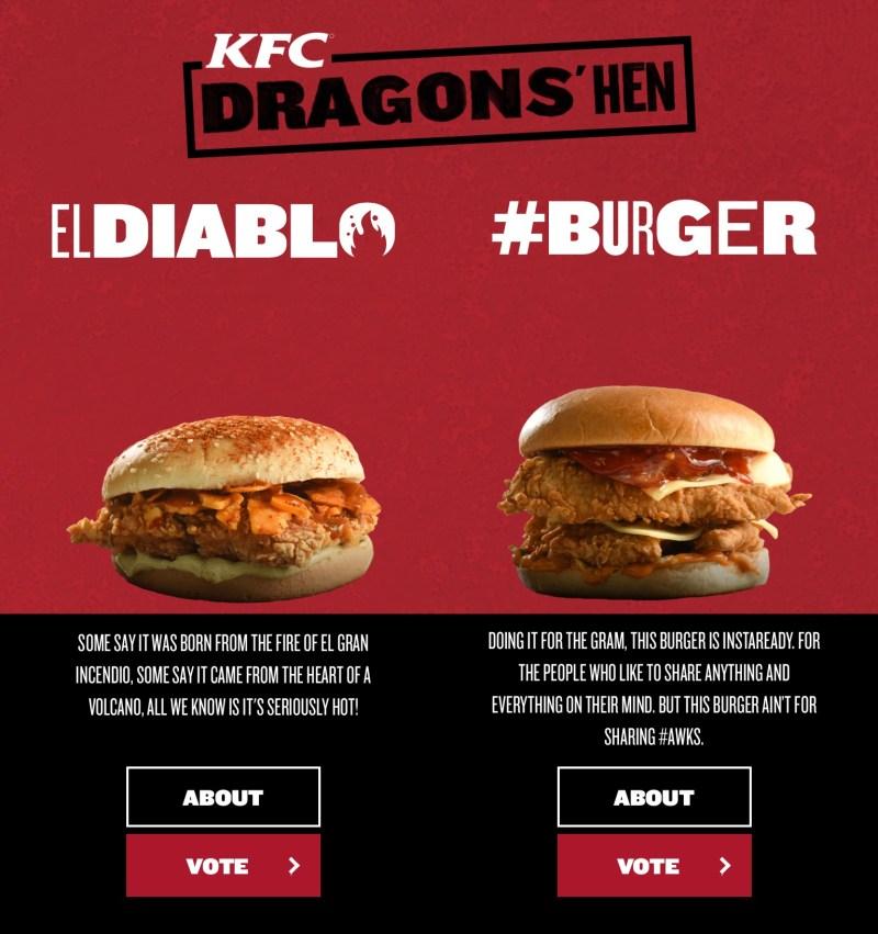 KFC Dragon's Hen