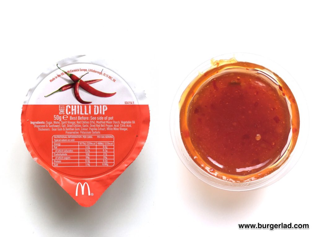 McDonald's Sweet Chilli Dip
