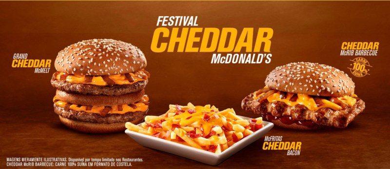 McDonald's Cheddar Festival