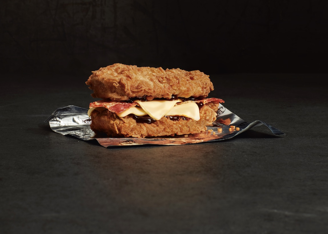 KFC Double Down UK 2018