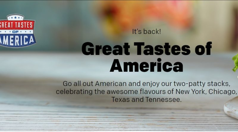McDonald's Great Tastes of America 2018