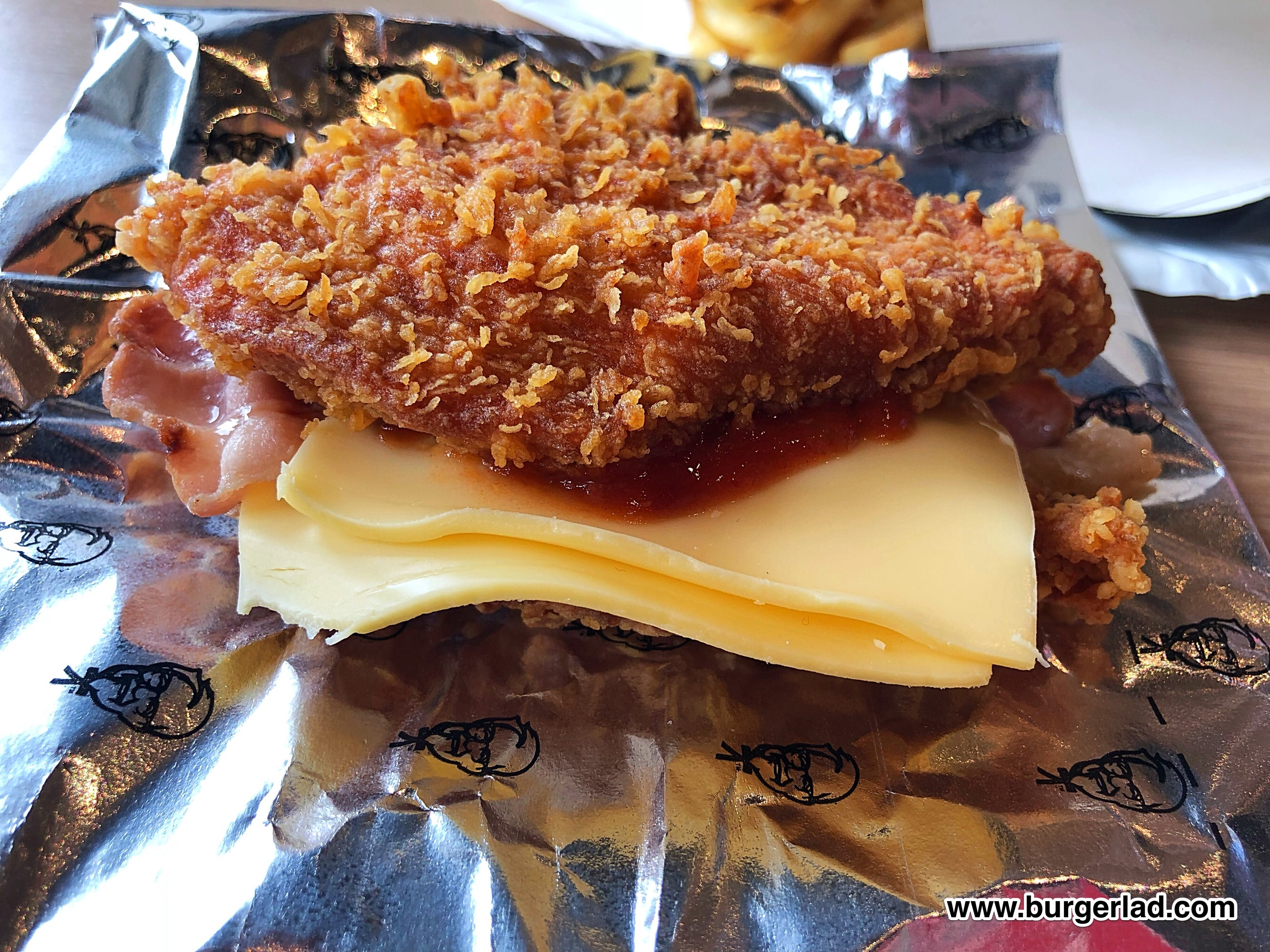 KFC Zinger Double Down UK Review