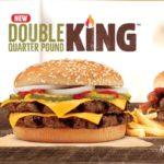 Burger King Double Quarter Pound King UK