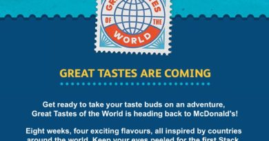 McDonald's Great Tastes of the World 2018