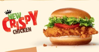 Burger King Crispy Chicken UK