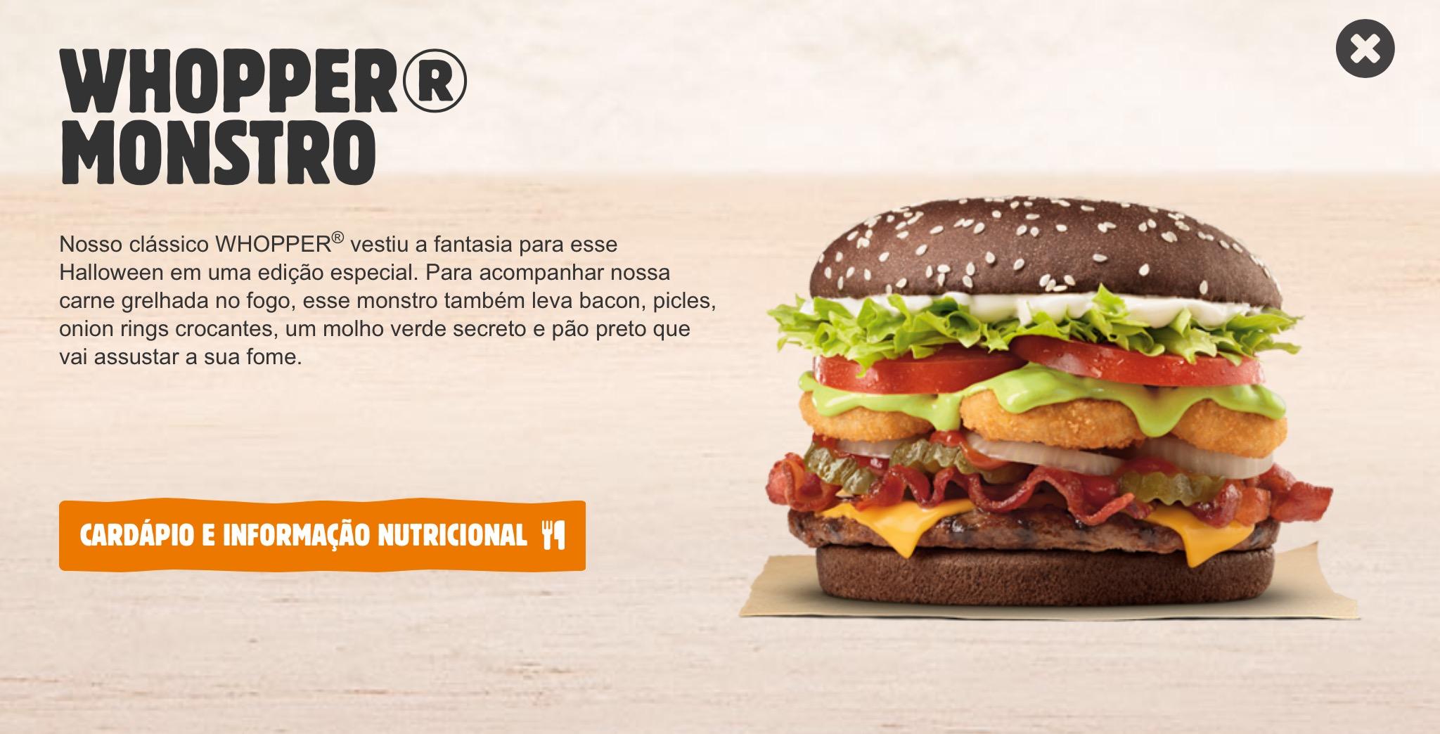 Burger King Monster Whopper