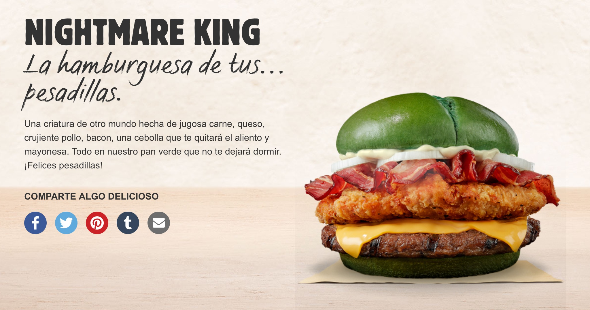 Burger King Nightmare King