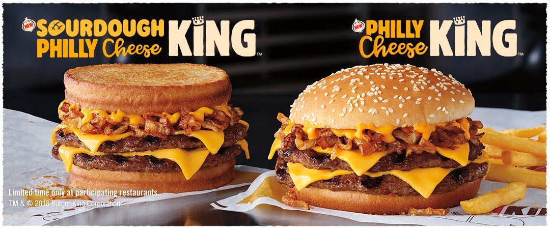 Burger King Philly Cheese King