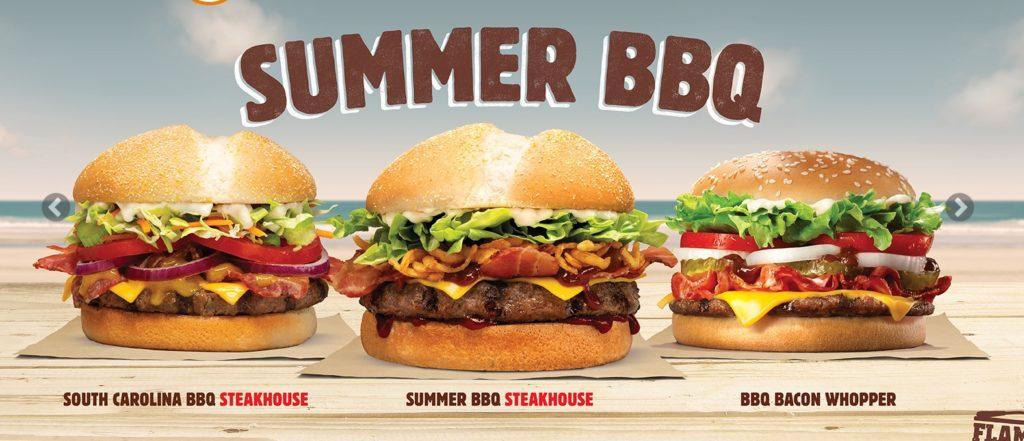 Burger King New Zealand Summer BBQ