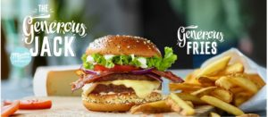 McDonald's Maestro Burgers - Belgium - Generous Jack