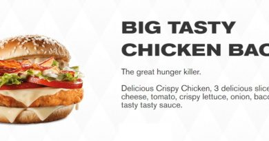 McDonald's Chicken Big Tasty UK