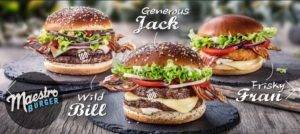 McDonald's Maestro Burgers - Croatia - Frisky Fran & Wild Bill