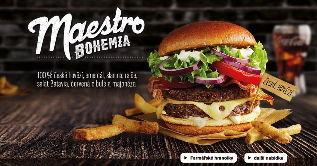 McDonald's Maestro Burgers - Czech Republic - Bohemia