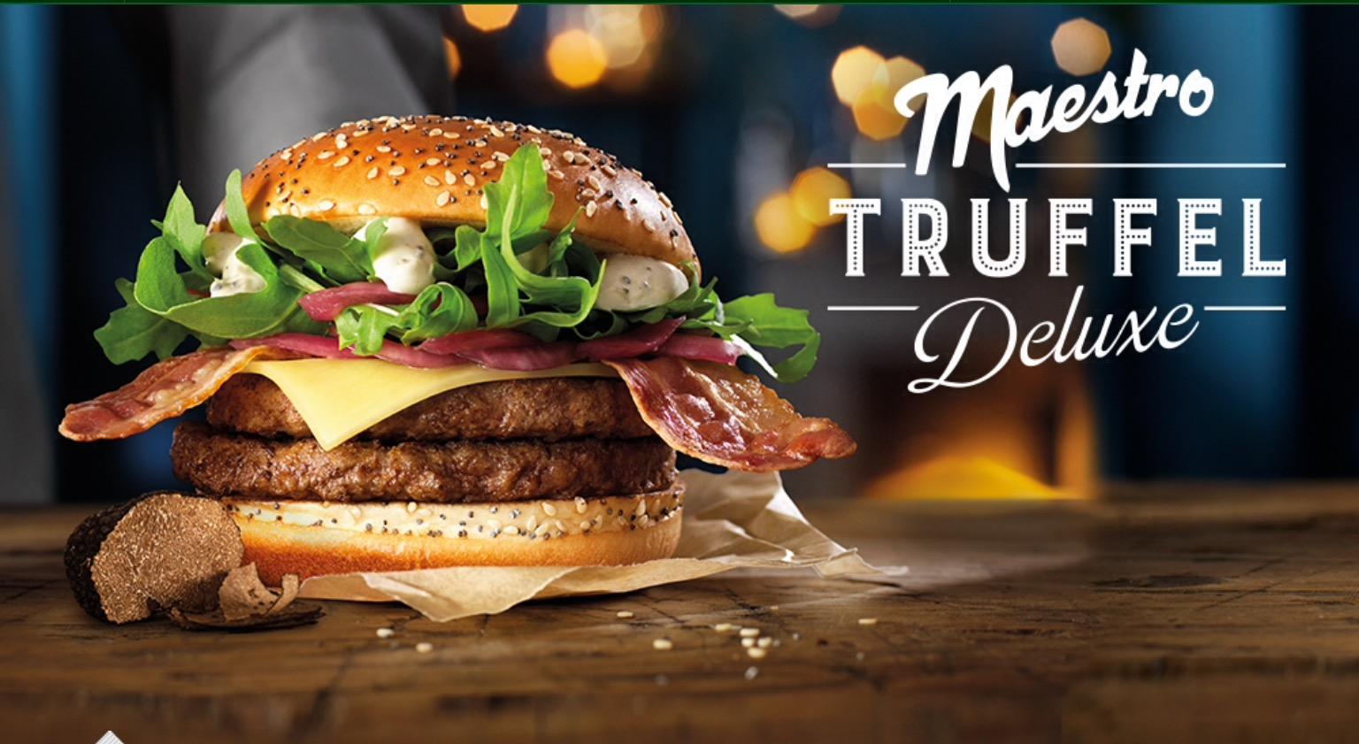 McDonald's Maestro Burgers - Holland - Truffel Deluxe