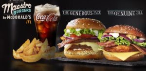 McDonald's Maestro Burgers - Malta - Generous Jack & Genuine Jill