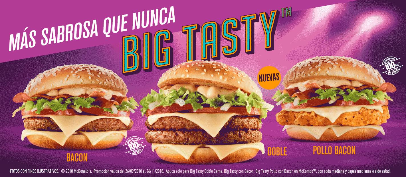 McDonald's Chicken Big Tasty UK