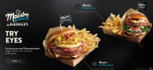 McDonald's Maestro Burgers - Poland - Grilled Cheese