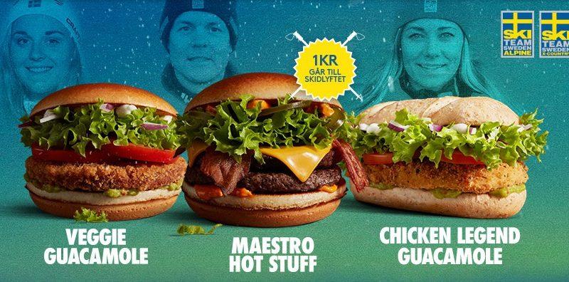 McDonald's Maestro Burgers - Sweden - Hot Stuff