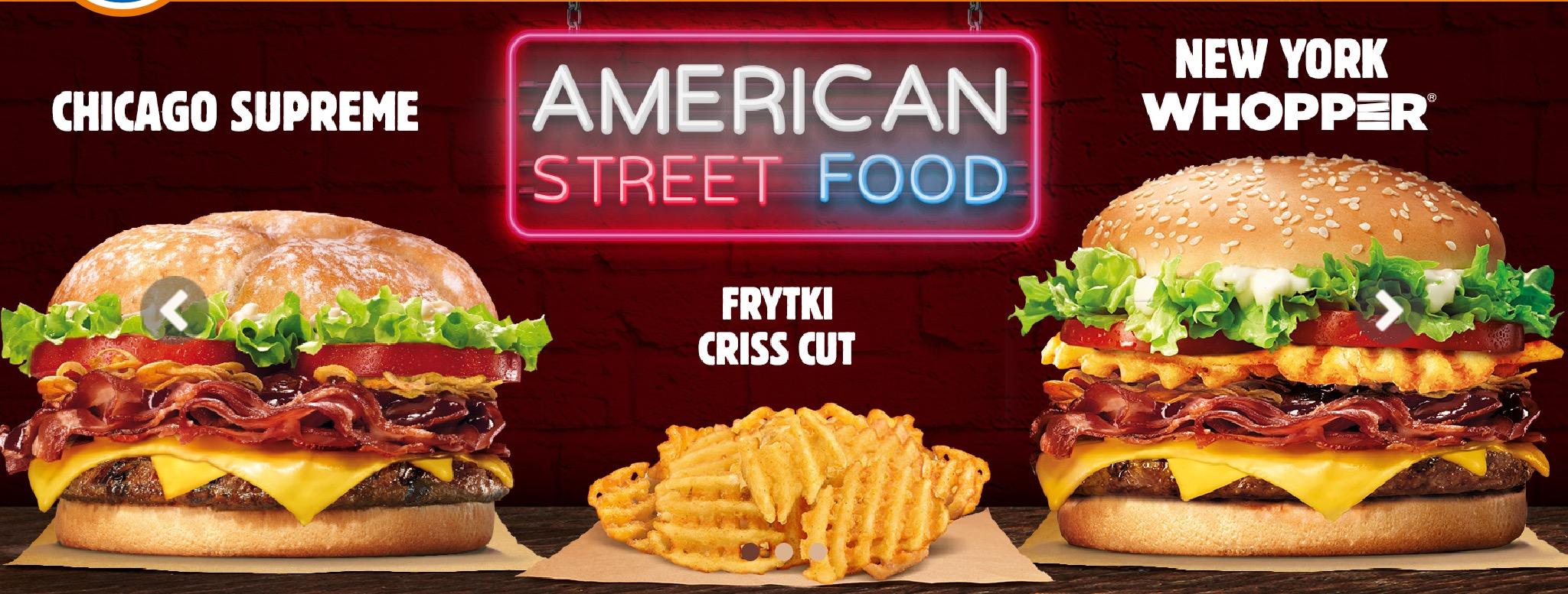 Burger King Poland - American Street Food