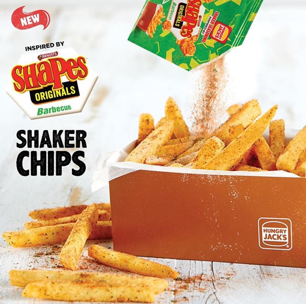 Hungry Jack's Shaker Chips