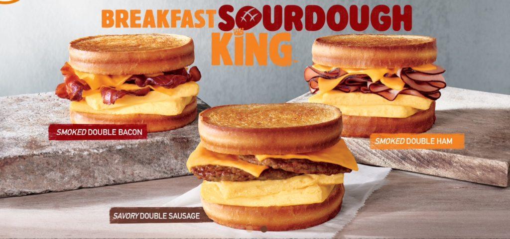 Burger King Bahamas - Breakfast Sourdough King