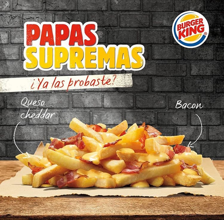 Burger King Paraguay - Supreme Fries