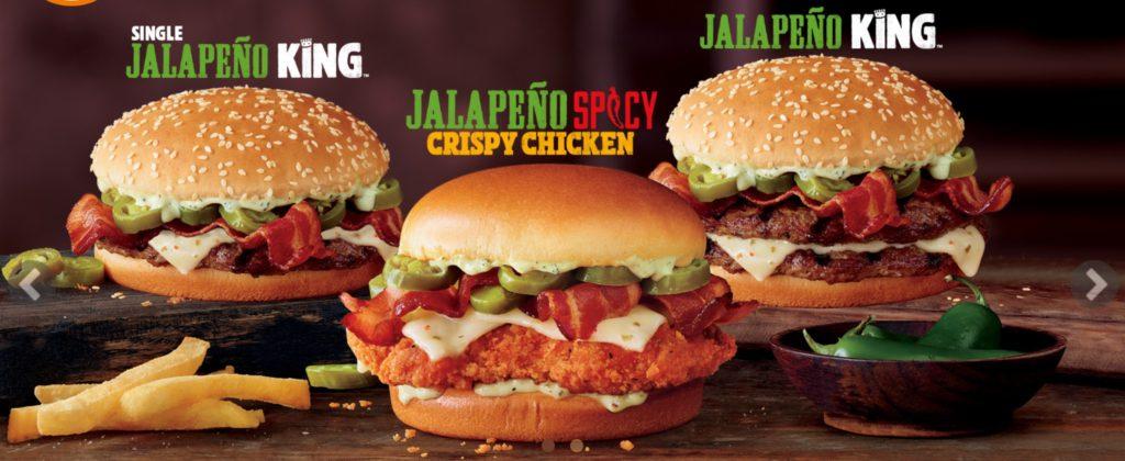 Burger King Bahamas - Jalapeño Spicy Crispy Chicken
