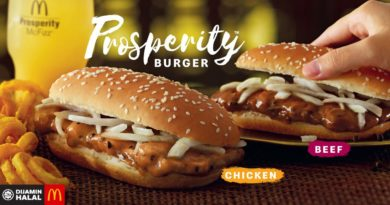 McDonald's Prosperity Burger