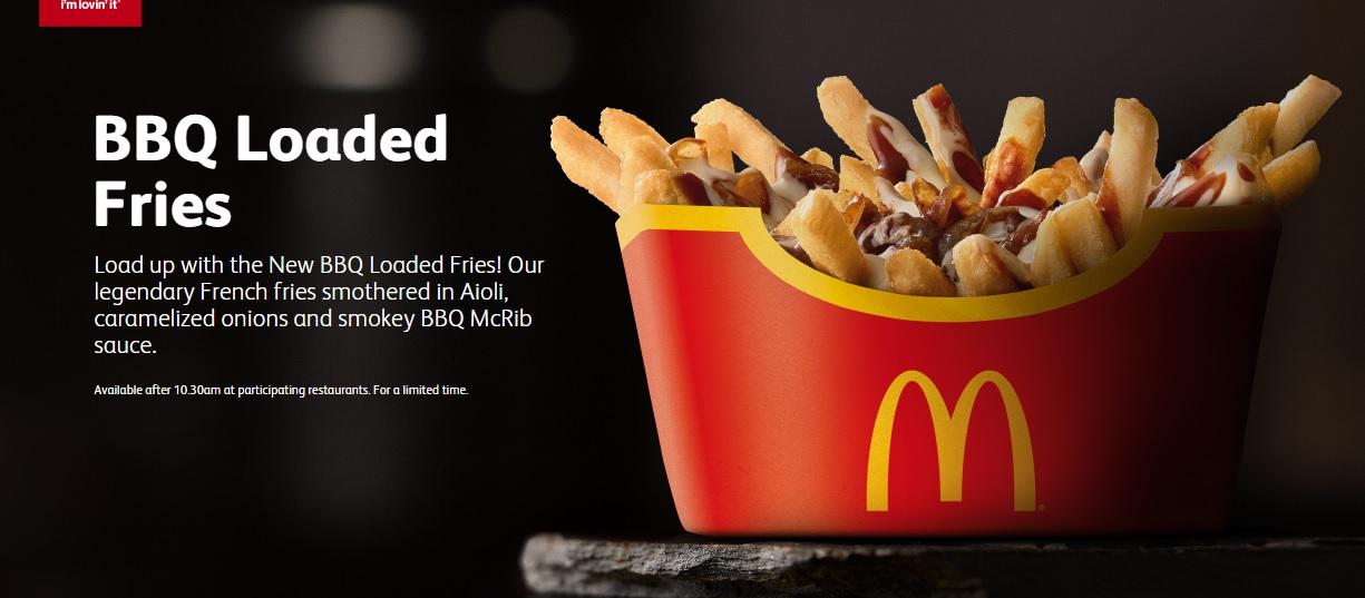 McDonald's Australia - BBQ Loaded Fries