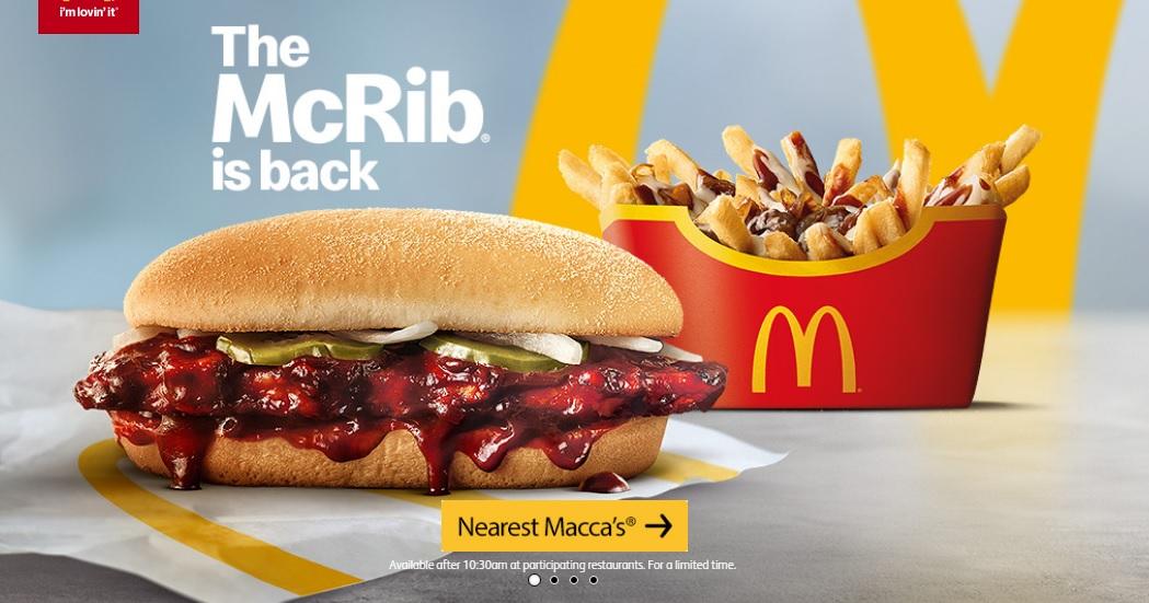 McDonald's Australia - McRib & Gravy Loaded Fries