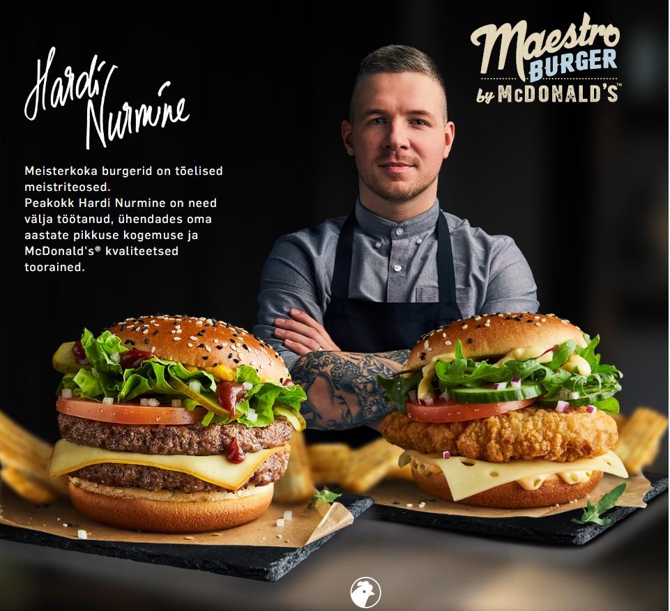 McDonald's Estonia - Maestro Burgers