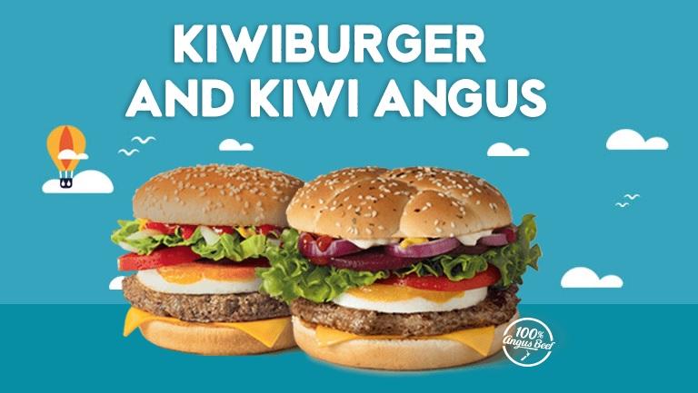 McDonald's New Zealand - Kiwiburger & Kiwi Angus