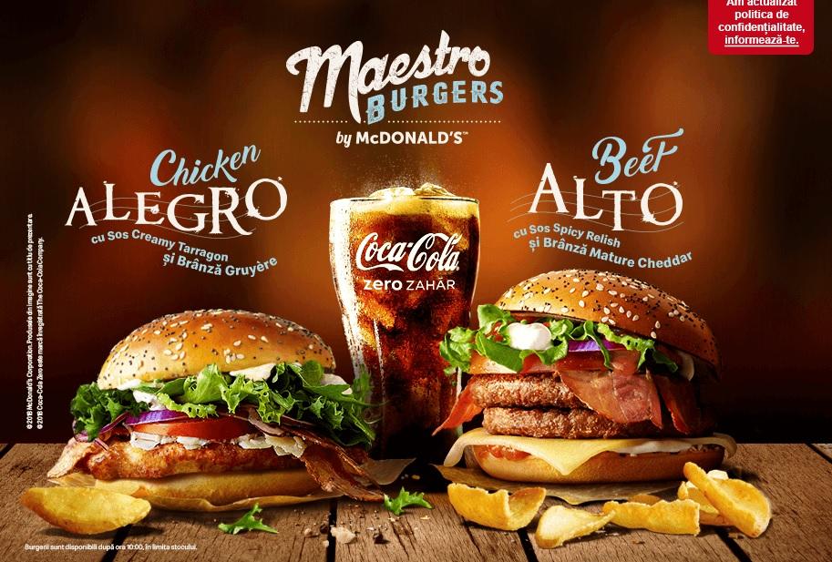 McDonald's Romania - Maestro Chicken Alegro