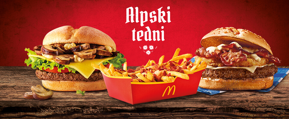 McDonald's Slovenia - Alpine Weeks