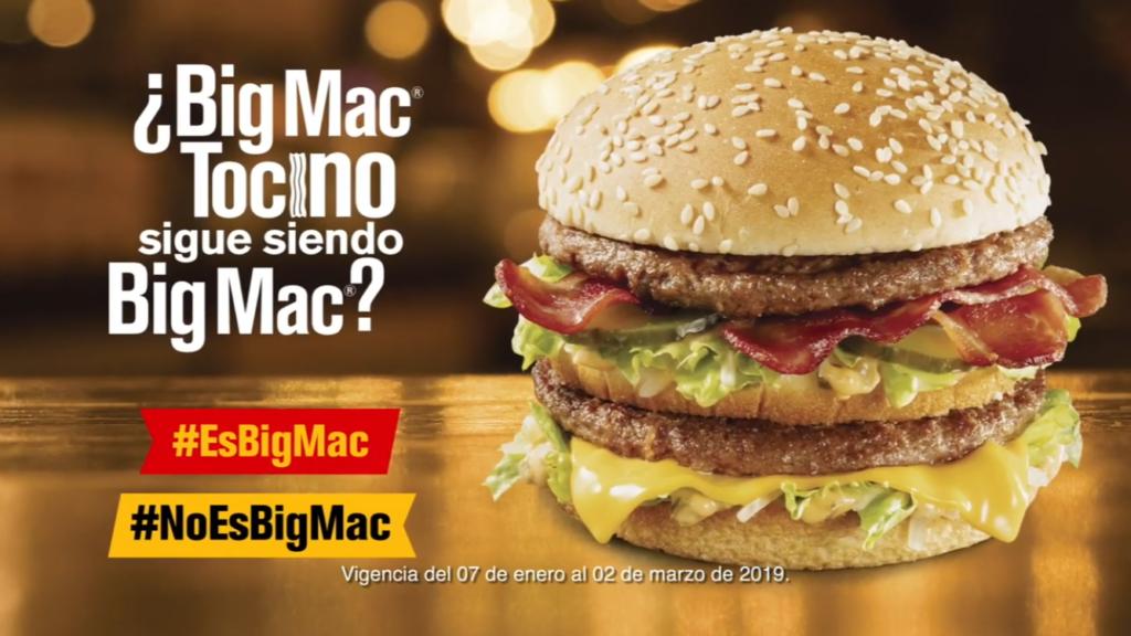 McDonald's Mexico - Big Mac Bacon