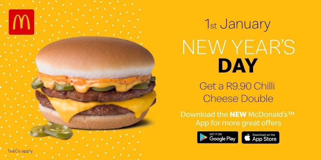 McDonald's South Africa - Chilli Cheese Double