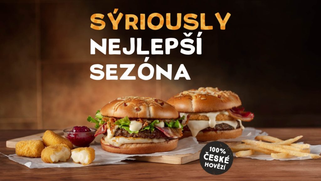 Swiss King - Cheese King - McDonald's Czech Republic