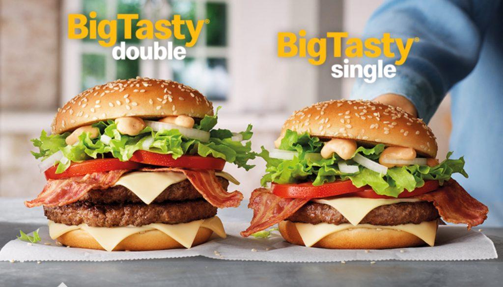 Big Tasty Double - McDonald's Holland