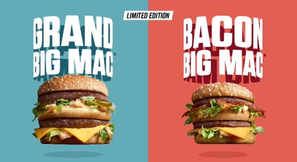 McDonald's Bacon Big Mac - Belgium