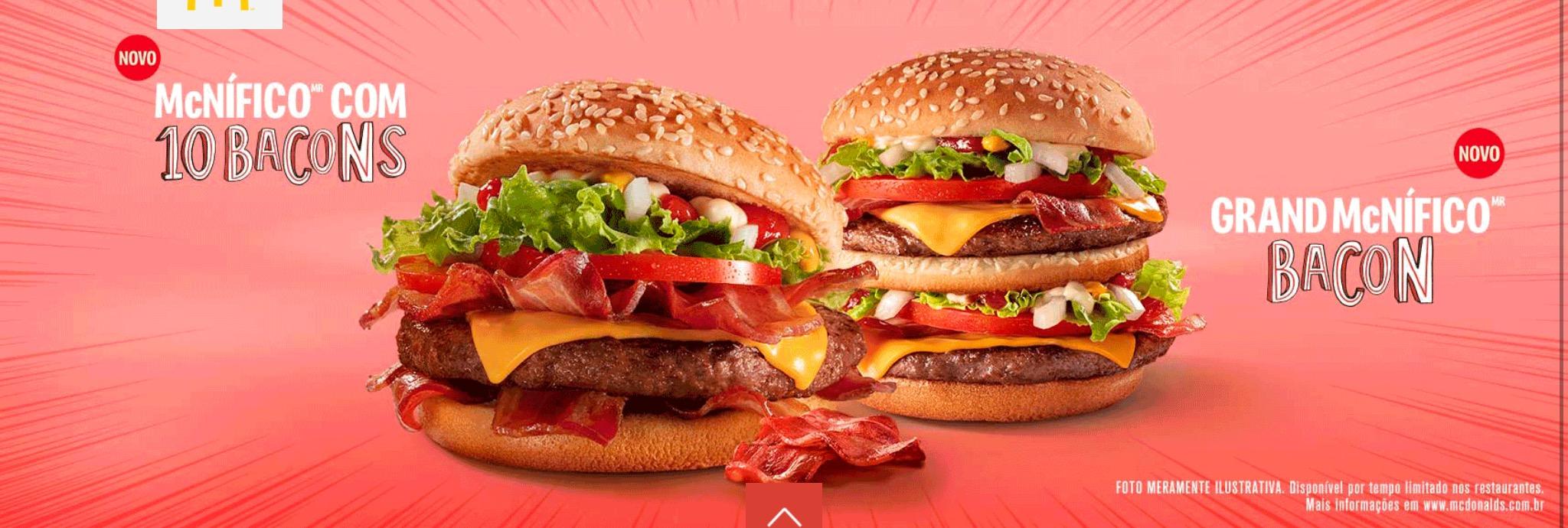 Grand McNifico Bacon - McDonald's Brazil