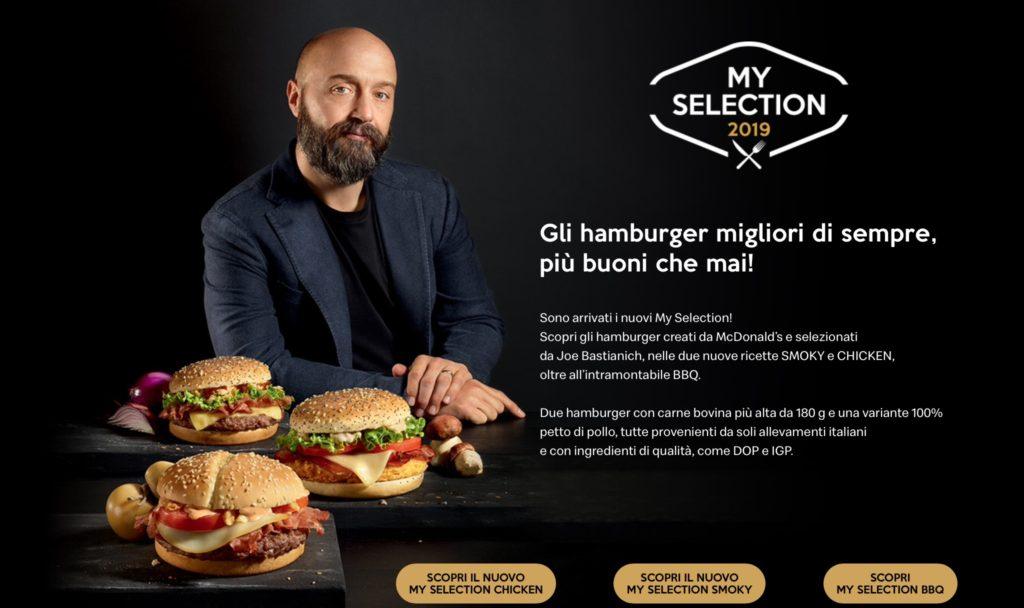 McDonald's My Selection 2019